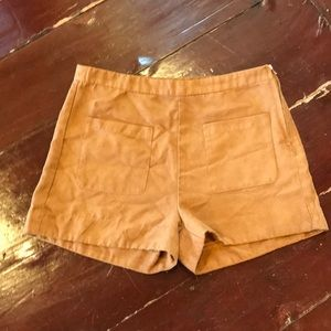 Charlotte Russe Faux Suede Shorts